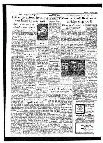 Rotterdamsch Parool / De Schiedammer 1955-09-07