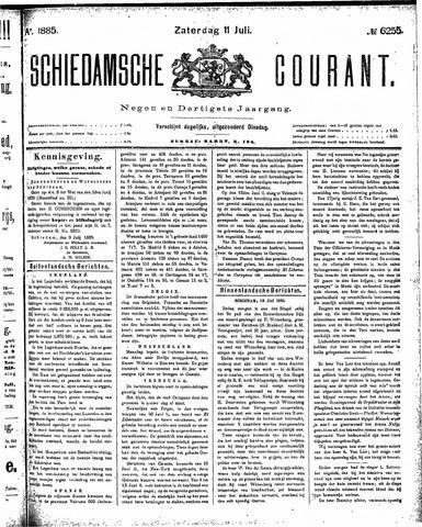 Schiedamsche Courant 1885-07-11