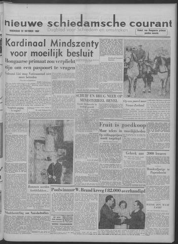 Nieuwe Schiedamsche Courant 1958-10-22