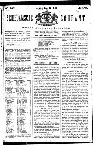 Schiedamsche Courant 1879-07-17