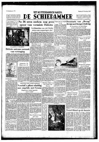 Rotterdamsch Parool / De Schiedammer 1949-11-22