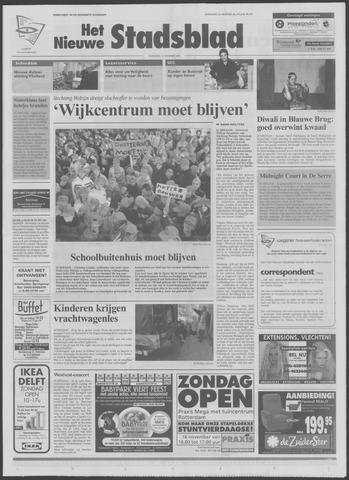 Het Nieuwe Stadsblad 2003-11-12