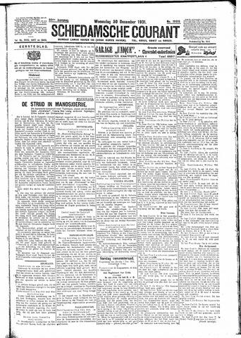 Schiedamsche Courant 1931-12-30