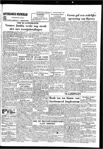 Rotterdamsch Nieuwsblad / Schiedamsche Courant / Rotterdams Dagblad / Waterweg / Algemeen Dagblad 1965-04-23
