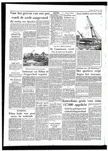 Rotterdamsch Parool / De Schiedammer 1955-10-18
