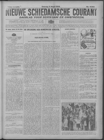 Nieuwe Schiedamsche Courant 1929-03-09