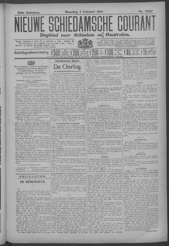 Nieuwe Schiedamsche Courant 1918-02-04