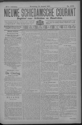 Nieuwe Schiedamsche Courant 1917-01-24