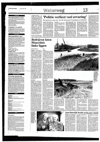 Rotterdamsch Nieuwsblad / Schiedamsche Courant / Rotterdams Dagblad / Waterweg / Algemeen Dagblad 1993-07-16