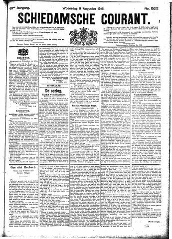 Schiedamsche Courant 1916-08-09
