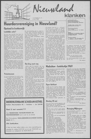 Nieuwland Klanken 1969-05-08