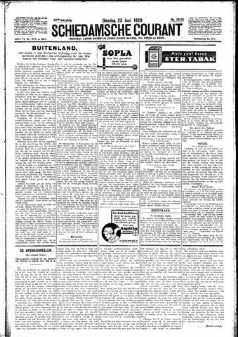 Schiedamsche Courant 1929-06-25