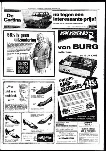 Rotterdamsch Nieuwsblad / Schiedamsche Courant / Rotterdams Dagblad / Waterweg / Algemeen Dagblad 1966-09-30
