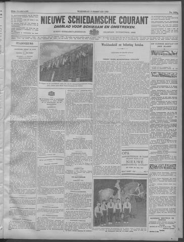 Nieuwe Schiedamsche Courant 1932-02-03