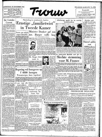 Trouw / De Rotterdammer 1954-11-25