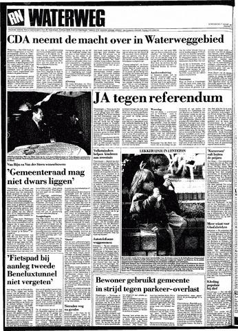Rotterdamsch Nieuwsblad / Schiedamsche Courant / Rotterdams Dagblad / Waterweg / Algemeen Dagblad 1991-03-07