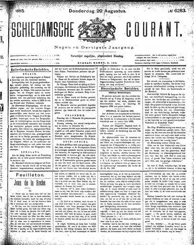 Schiedamsche Courant 1885-08-20