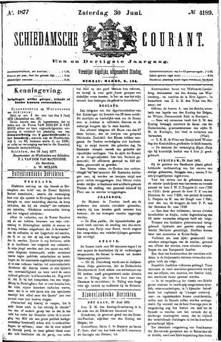 Schiedamsche Courant 1877-06-30