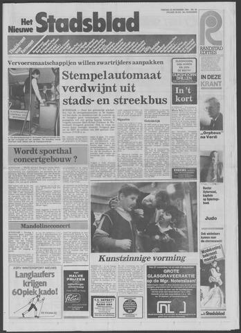 Het Nieuwe Stadsblad 1984-11-23