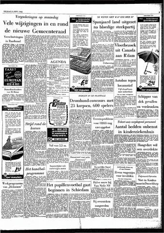 Rotterdamsch Parool / De Schiedammer 1962-09-21