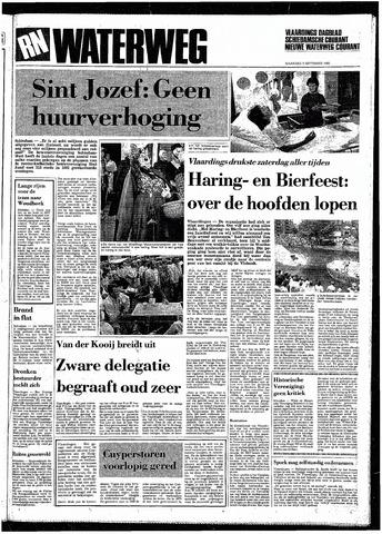 Rotterdamsch Nieuwsblad / Schiedamsche Courant / Rotterdams Dagblad / Waterweg / Algemeen Dagblad 1985-09-09