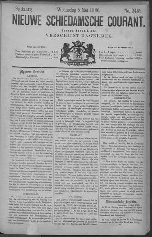 Nieuwe Schiedamsche Courant 1886-05-05
