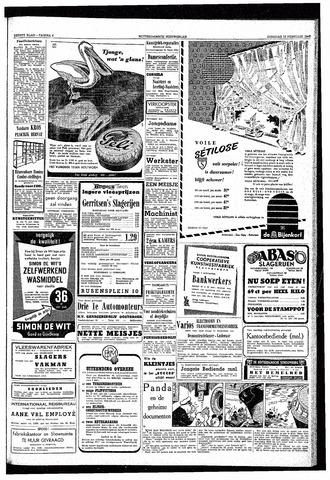 Rotterdamsch Nieuwsblad / Schiedamsche Courant / Rotterdams Dagblad / Waterweg / Algemeen Dagblad 1953-02-10