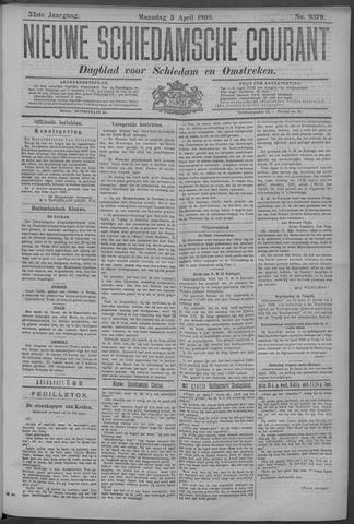 Nieuwe Schiedamsche Courant 1909-04-05