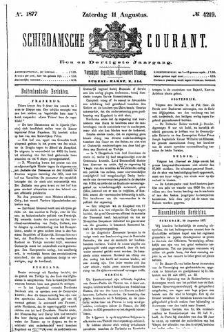 Schiedamsche Courant 1877-08-11