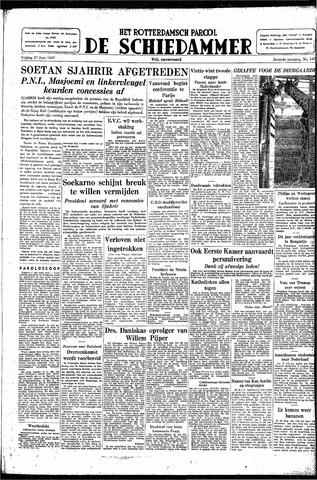 Rotterdamsch Parool / De Schiedammer 1947-06-27