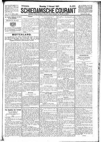 Schiedamsche Courant 1927-02-07