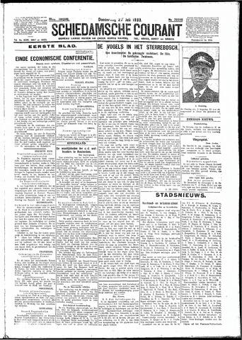 Schiedamsche Courant 1933-07-27