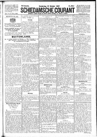 Schiedamsche Courant 1927-10-13