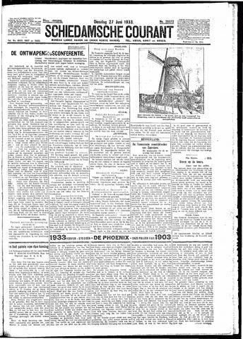 Schiedamsche Courant 1933-06-27