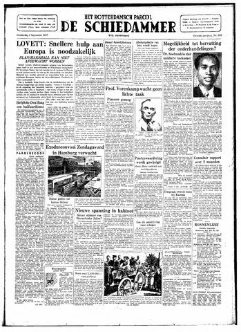 Rotterdamsch Parool / De Schiedammer 1947-09-04