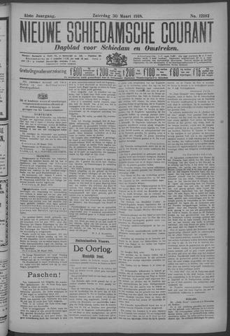 Nieuwe Schiedamsche Courant 1918-03-30