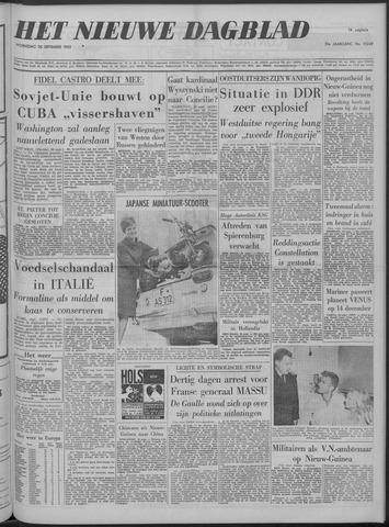 Nieuwe Schiedamsche Courant 1962-09-26