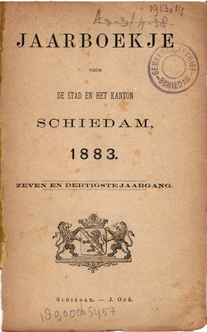 Schiedams Jaarboek 1883-01-01