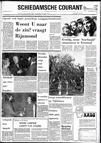 Rotterdamsch Nieuwsblad / Schiedamsche Courant / Rotterdams Dagblad / Waterweg / Algemeen Dagblad 1974-09-06