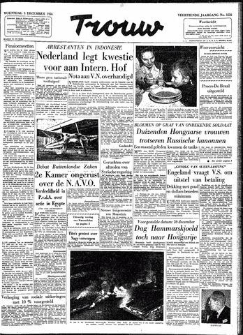 Trouw / De Rotterdammer 1956-12-05