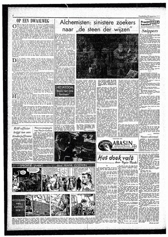 Rotterdamsch Parool / De Schiedammer 1957-08-29