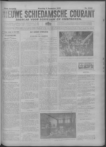 Nieuwe Schiedamsche Courant 1929-09-09