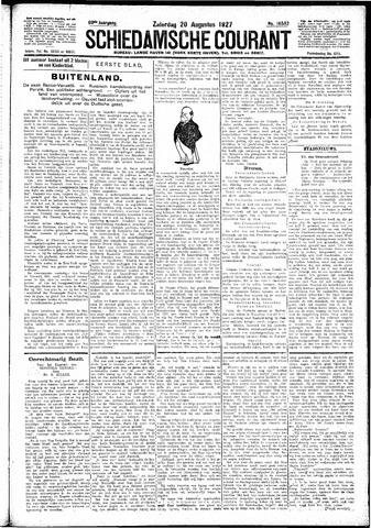Schiedamsche Courant 1927-08-20