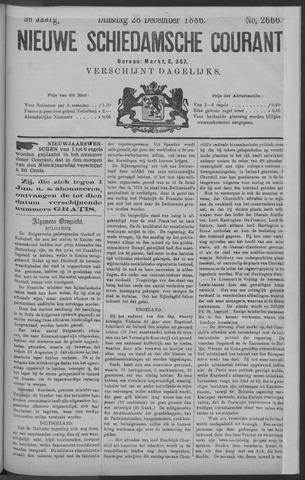 Nieuwe Schiedamsche Courant 1886-12-28