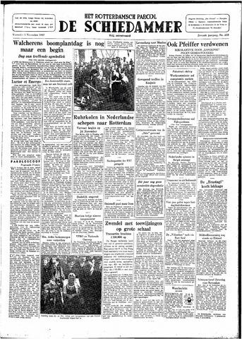 Rotterdamsch Parool / De Schiedammer 1947-11-05
