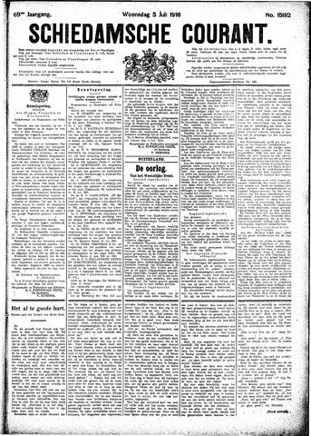 Schiedamsche Courant 1916-07-05