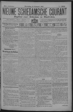 Nieuwe Schiedamsche Courant 1913-02-19