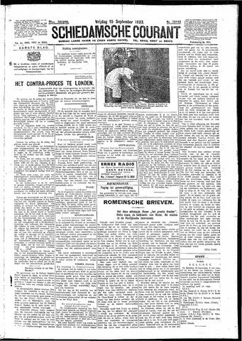 Schiedamsche Courant 1933-09-15