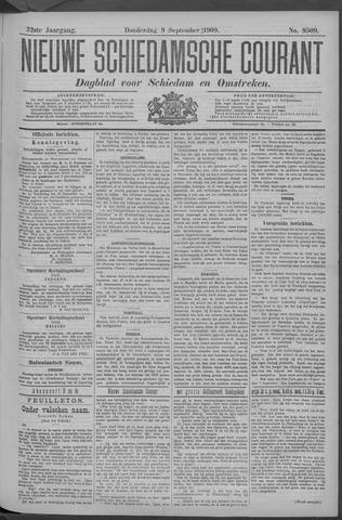 Nieuwe Schiedamsche Courant 1909-09-09