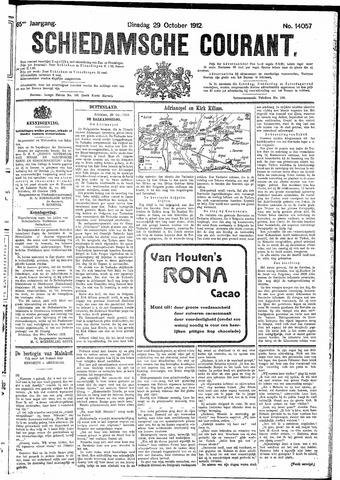 Schiedamsche Courant 1912-10-29